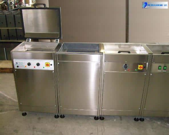 impianto ultrasonoro multi vasche