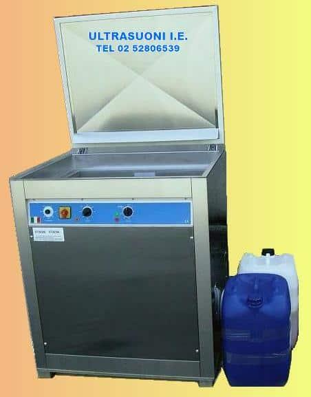 lavaggio ultrasuoni 200L