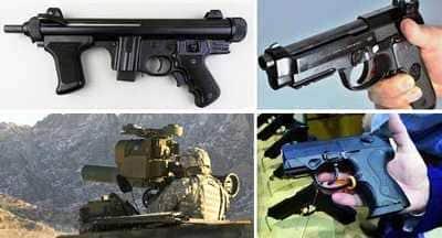 lavatrici per armi esercito, polizia, finanza