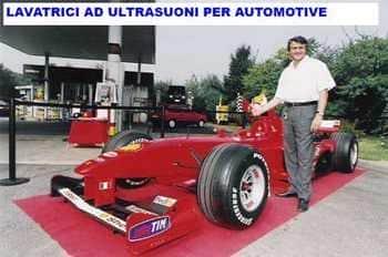 lavatrici a ultrasuoni per automotive